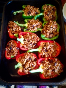 Peppers Mexican Rice and Beef