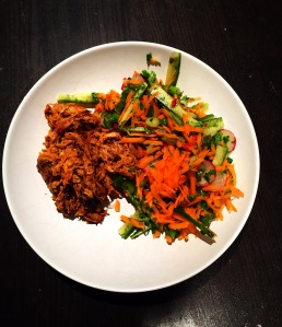 Thai pulled pork